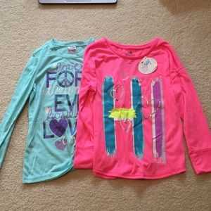 NWT Justice sleep shirt bundle